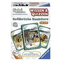 Ravensburger-00752-tiptoi-Spiel-Wissen-Quizzen-Gefhrliche-Raubtiere