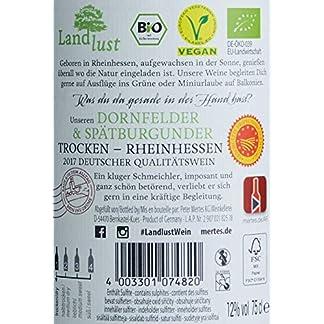 Landlust-Dornfelder-Sptburgunder-BIO-Vegan-trocken-6-x-075-l