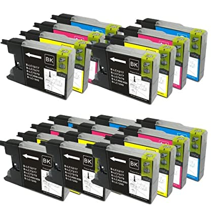 20-XL-Colour-Direct-Kompatibel-Druckerpatronen-LC1280-Ersatz-fr-Brother-MFC-J5910DW-MFC-J6510DW-MFC-J6710DW-MFC-J6910DW