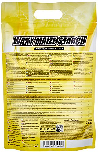 Ironmaxx Waxy Maize Starch Neutral, 1er Pack (1 x 2 kg)