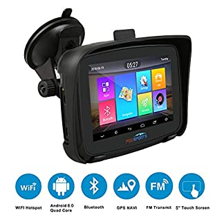 FODSPORTS-GPS-Navi-Navigation-fr-Auto-5-Zoll-Pkw-Navi-Sonnenschutz-Traffic-Navigationsgert-Bluetooth-Updates-ber-Wi-Fi-fr-Motorrder-LKW-mit-POI-Blitzerwarnung-Sprachfhrung-Fahrspurassistent