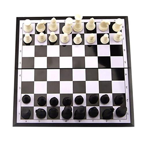 Baoblaze-Tragbar-Magnetisches-Schach-Schachspiel-Satz-1-Faltbare-Schachbrett-32-Schachfiguren