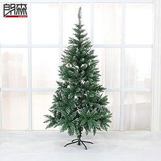 CYWYQ-6-Ft-WeihnachtsbaumKnstliche-Unbeleuchtete-Premium-Fichte-Aufklappbaren-Baum-Mit-Metallstnder-Fr-Indoor-Im-Freien