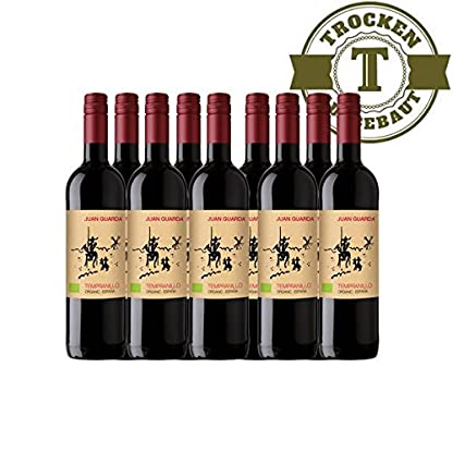 Rotwein-Spanien-Juan-Guarda-Tempranillo-BIO-trocken-9-x-075l-VERSANDKOSTENFREI