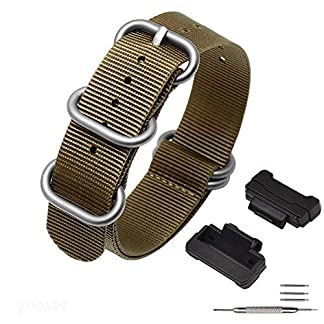 YOOSIDE-Armband-fr-Casio-G-Shock-NATO-Gewebtes-Nylon-Uhrenarmbnder-mit-Edelstahlschnalle-Ersatzarmband-fr-Casio-G-Shock-GW-DW5600DW-6900GW-M5610GW-5000-5035