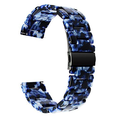 TRUMiRR-Fr-Samsung-Gear-S3-Armband-22mm-Schnellverschluss-Resin-Watch-Armband