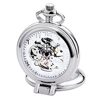 TREEWETO-taschenuhr-mit-kette-herren-silber-rmische-ziffern-retro-uhr-taschenuhren-mechanisch-pocket-watch
