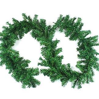 Amacoam-Tannengirlande-Knstlich-Weihnachtsgirlande-Girlande-Weihnachten-270cm-Weihnachtsdeko-Girlande-Tannengirlanden-Kunststoff-Grn-Girlande-Tanne-Weihnachten-Deko-fr-Innen-und-Auen-Breite-24cm