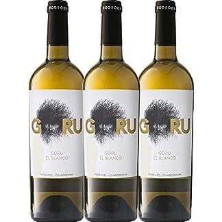 3er-Paket-Goru-El-Blanco-DO-Jumilla-2017-Ego-Bodegas-trockener-Weiwein-spanischer-Sommerwein-aus-Murcia-3-x-075-Liter