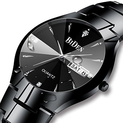 Herren-Schwarz-Uhren-Mnner