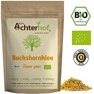 Bockshornklee-Samen-ganz-BIO-500g-Bockshorn-Tee-Bockshornkleesamen-Ideal-als-Tee-oder-Gewrz-Fenugreek-Seeds-Whole-Organic
