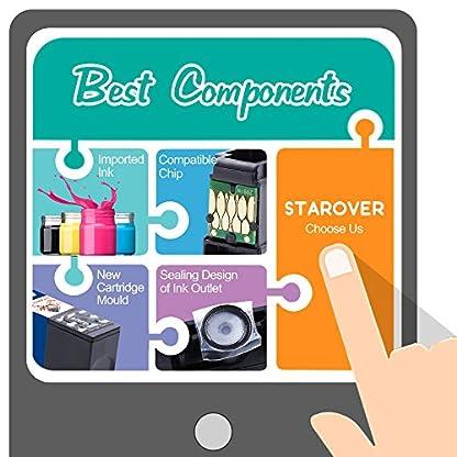 STAROVER-4x-Kompatibel-Druckerpatrone-Ersatz-fr-Epson-29-XL-29XL-Tintenpatronen-fr-Epson-Expression-Home-XP-235-XP-245-XP-247-XP-330-XP-332-XP-335-XP-342-XP-345-XP-430-XP-432-XP-435-XP-442-XP-445