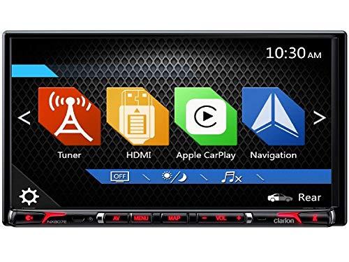 Clarion-NX807E-Radio-Navigation-Apple-CarPlay-mit-Einbauset-fr-Suzuki-SX4-EYGY-ab-062006