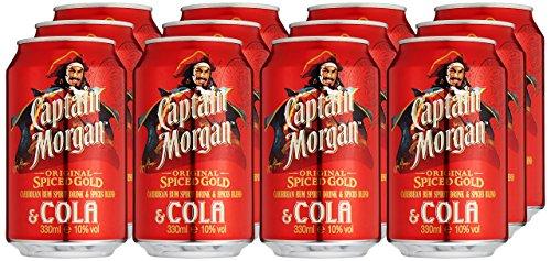 Captain-Morgan-Original-Spiced-Gold-mit-Cola-12-x-033-l