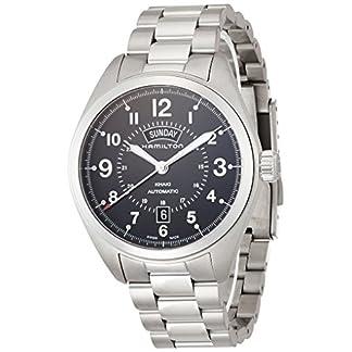 Hamilton-Herren-Analog-Automatik-Uhr-mit-Edelstahl-Armband-H70505133
