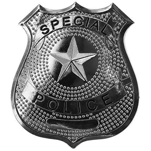 """US Polizeiabzeichen, """"Special Police"""", silber, Anstecknadel"""