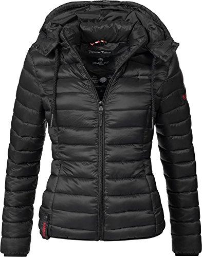 Marikoo Damen Jacke Übergangs-Jacke Steppjacke Ein Und Alles (vegan hergestellt) 10 Farben XS-XXL