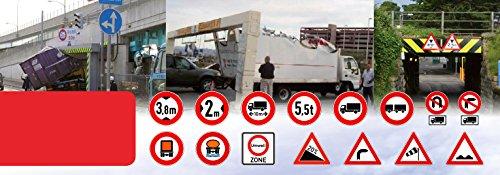 Navigationsgert-Fr-LKWTruck-PKW-BusWOHNMOBIL-und-CamperRadarwarner-Kostenlos-Map-Update-GANZ-Europa-Karte47-lnder-Gefahrgut-GRATIS-Sonnenblende