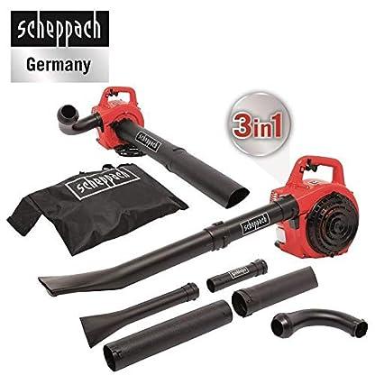 Scheppach-Benzin-Laubsauger-und-Blser-LBH2600P-mit-Hcksler-1-PS-45L-Fangsack-Easy-Start-Blasgeschwindigkeit-bis-268kmh-Ansaugleistung-von-678mh