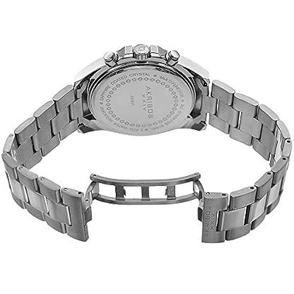 Akribos-XXIV-Armbanduhr-Analog-Quarz-Edelstahl-AK951SSPKSilver