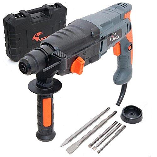 Bohrhammer-1050-Watt-SDS-Plus-Koffer-Zubehr