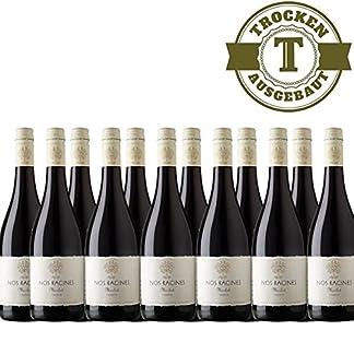 Rotwein-Frankreich-Nos-Racines-Merlot-trocken-2016-12x075L