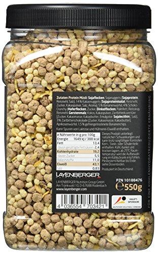 Layenberger LowCarb.one Protein Müsli Schoko-Banane, 3er Pack (3 x 550 g)