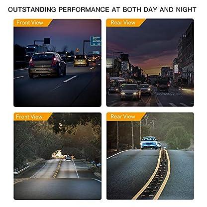 APEMAN-Dual-Lens-Autokamera-Dashcam-WQHD-1440P-2K-Dashboard-Video-Recorder-1080P-FHD-Rckkamera-mit-IR-Sensor-6G-Lens-G-Sensor-WDR-Super-Nachtsicht-Schleifenaufnahme-Parkmonitoring