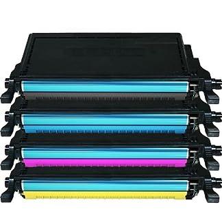 4X-Eurotone-Toner-XXL-fr-Samsung-CLP-620-ND-NDK-CLP-670-N-ND-NDK-NK-CLX-6220-6250-FX-Black-Schwarz-Cyan-Magenta-Gelb-Yellow-Premium-Alternative-XLset
