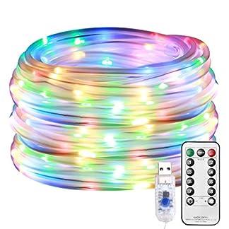 LE-100er-LED-Lichterschlauch-Warmwei-10M-led-Lichterschlauch-aussen-fr-Innen-Auen-Party-Weihnachten-Dekolicht