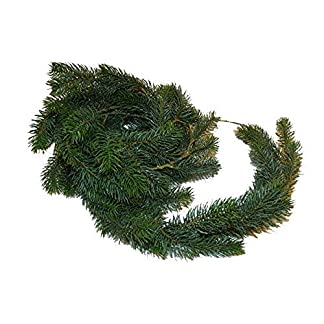 Hochwertige-Schlanke-TannengirlandeDekogirlande-Weihnachten-Lnge-270cm-Indoor-Outdoor-WeihnachtsgirlandeHngegirlande-Tischgirlande-Knstliche-Tannen-Girlande-Weihnachtsdeko
