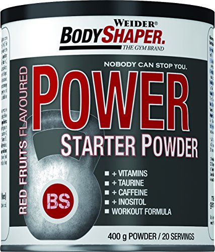 Weider, Power Starter Powder, Red Fruits, 1er Pack (1x 400 g)
