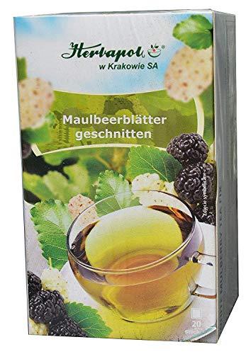 Maulbeerblätter Tee, 60 x 2g, 120g, bremsen Zuckeraufnahme auch aus Kohlenhydraten, Heißhunger, halten Zuckerspiegel niedrig, Abnehmen bequem schnell schlank fett weg, cholesterinsenker