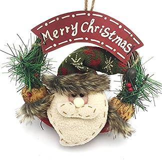 ZXPAG-Weihnachtskranz-Dekoration-Hlzerne-Weihnachten-Rattan-Ring-Weihnachtspuppe-fr-Tr-und-Fenster-auen-Deko-Wandkranz-Kranz-Girlande