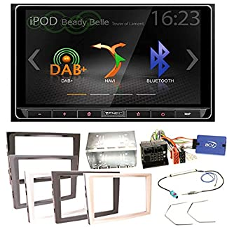ZENEC-Z-N426-Bluetooth-USB-MP3-DAB-Autoradio-Moniceiver-Smartlink-Einbauset-fr-Opel-Astra-H-Corsa-D-Zafira-B-Antara