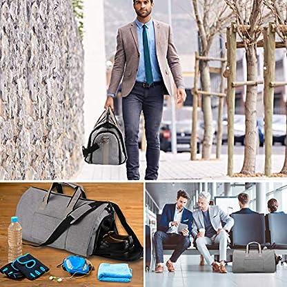 Wasserdichte-Anzugtasche-Kleidersack-Reisetasche-Anzugsack-Umhngetasche-Sporttasche-fr-Mnner-Handgepck-fr-HerrenFlugzeug-Reisen-Bussiness-Fitness-Anzug-Garment-Gym-Bag-AGPTEK