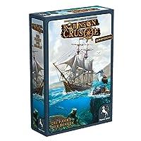 Pegasus-Spiele-51946G-Robinson-Crusoe-Die-Fahrt-der-Beagle-Erweiterung