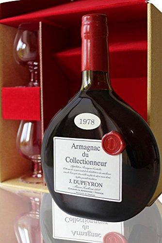 Bas-Armagnac-Ryst-Dupeyron-1978-2-Verres-70cl