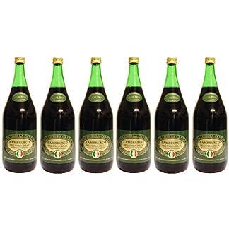Lambrusco-rosso-dolce-Gualtieri-DellEmilia-IGT-6-X-150-L-Vino-Frizzante-Roter-Ser-Perlwein-75-Vol-aus-Italien