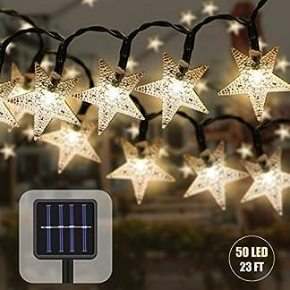 Solar-Lichterkette-Aussen-mit-Lichtsensor-7-M-50-LED-Sterne-Kristall-Dekoration-Beleuchtung-Wasserdicht-LED-Weihnachten-Lichterkette-fr-Garten-Bume-Partys-Lnnen-und-Auen