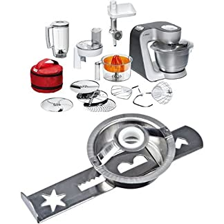 Bosch-MUM56S40-Kchenmaschine-Styline-MUM5-900-Watt-39-Liter-silber