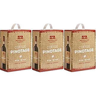 3-x-BRANDVLEI-MANOR-COFFEE-PINOTAGE-RED-WINE-Bag-in-Box-3-LITER-14-Sdafrika