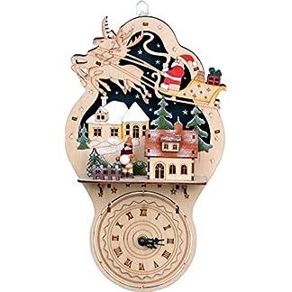 yanka-style-Beleuchtete-Weihnachtsdekoration-Leuchter-mit-Uhr-aus-Holz-ca-33-cm-hoch-Weihnachten-Advent-Geschenk-Dekoration-94411