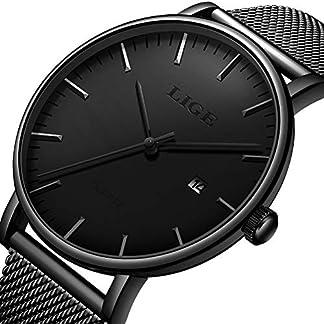 Herrenuhr-Wasserdichter-Edelstahl-Analog-Quarzuhren-Militr-Datumskalender-Business-Chronograph-Luxusmarke-LIGE-Mode-Lssig-Blaue-Durchbrochene-Uhr