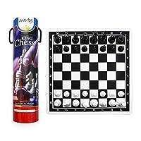 Pagos-Chess-Set-Schachspiel-Tragbares-Reiseschach-mit-Brettspiel-Set-Schach-fr-Kinder-Anfnger-und-Erwachsene