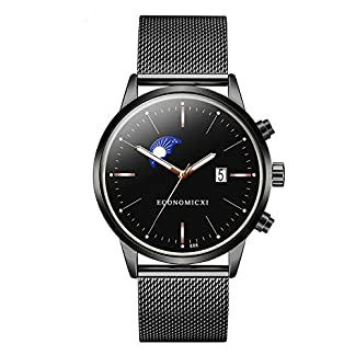 Artife-Herren-Uhr-Armbanduhr-Mnner-Quarzuhr-Mesh-Edelstahl-Armband-Chronographen-mit-Datumsanzeige-Classic-Business