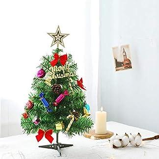 60-cm-Tischplatte-Weihnachtsbaum-Miniatur-Kiefer-Weihnachtsbaum-mit-hngenden-Ornamenten-Weihnachtsdekoration-Baum-Dekor