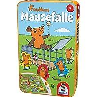 Schmidt-Spiele-51405-Maus-Mausefalle-in-Metalldose-Reisespiel