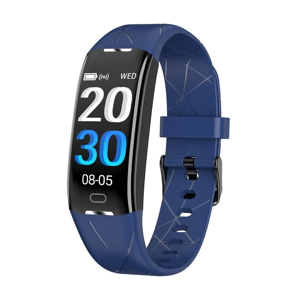 Ears-Herren-Smartwatch-Blutdruck-Schrittzhler-Schlafanalyse-Uhr-Mode-Digital-LED-Sportuhr-Schrittzhler-Schlaf-Monitor-Wasserdicht-Sport-Smart-Uhr-Pulsmesser-Schlaf-Sport-Fitness-Tracker