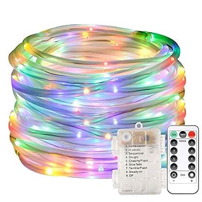 LED-Lichterschlauch-10m-100-LED-Lichter-mit-8-Modi-Innen-und-Auenbereich-Lauflichter-fr-Saal-Garten-Weihnachten-Hochzeit-Party